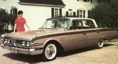 The 1960 Edsel Ranger line sold only 2,571 cars.