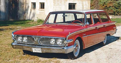 The 1960 Edsel Villager Wagon, a rare wagon of the 1958-1960 Edsel line of collectible cars.