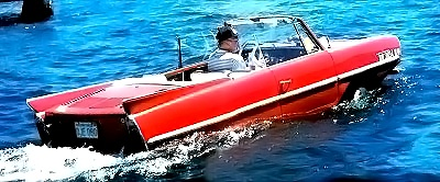 Red Amphicar
