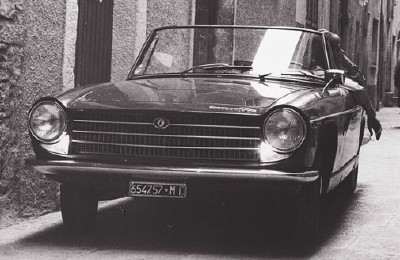 The 1964 Innocenti Spider, part of the 1961-1970 Innocenti Spider/Coupe series.