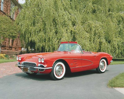 The 1961 Corvette was offered with a wider choice of axle ratios.