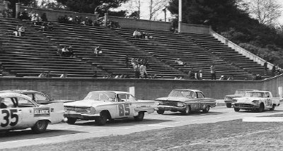 Bowman Gray Stadium hosted a 1961 NASCAR Grand National event won by Rex White on April 3.