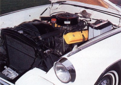Under the Hood of the 1962, 1963, 1964 Studebaker Gran Turismo Hawk