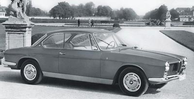 This 1962 BMW 3200CS coupe was part of the 1962-64 BMW 3200CS line.