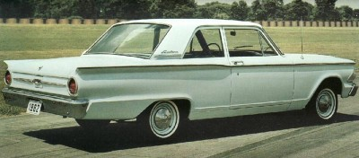 The 1962 Fairlane 500 two-door sedan