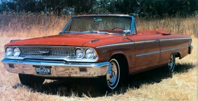 This 1963 Galaxie 500/XL Sunliner