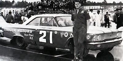 Tiny Lund with his 1963 slantback.