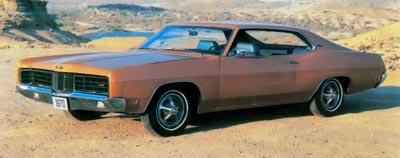 1970 Ford XL SportsRoof hardtop.