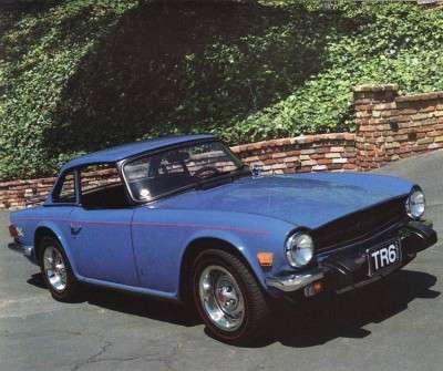 1962-1976 Triumph TR Specifications - Triumph Specifications