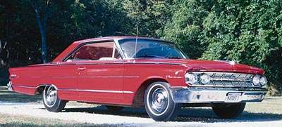 1963 Mercury S-55 Marauder hardtop coupe of the 1963-1964 S-55 & Marauder