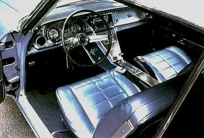 Buick Riviera was an early exponent of this integrated dash/console.