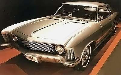 This first-generation Buick Riviera changed only in detail between 1963-1965.