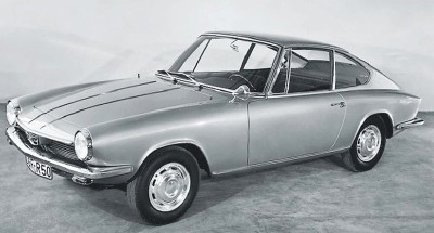1963 Glas 1300 GT 2+2 coupe, one of Glas' final models