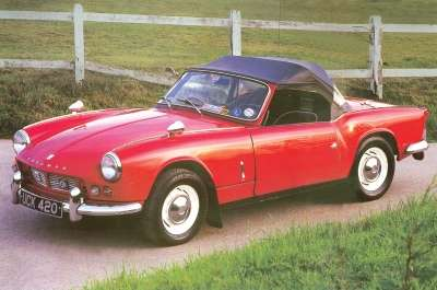 The petite two-seater dubbed the Spitfire emerged in time for the 1963 model year.
