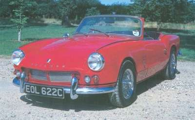 The 1965 Spitfire had moved on to its Mark 2 version, with revised camshaft and upgraded interior.
