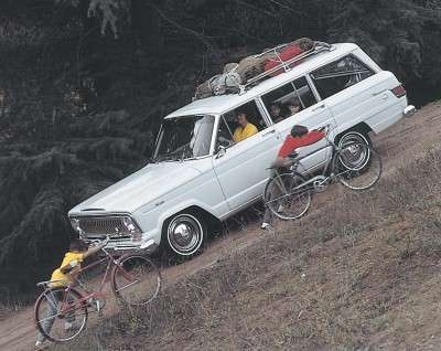 Jeep Wagoneers held 91 cubic feet of cargo, plus had an optional roof rack to carry more.