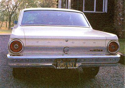 Continued - 1963, 1964, 1965 Ford Falcon Futura Sprint