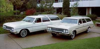 1965 Buick Sportwagon and Oldsmobile Vista-Cruiser