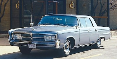 The 1965 Imperial LeBaron hardtop sedan, part of the 1964-1970 Imperial LeBaron series.