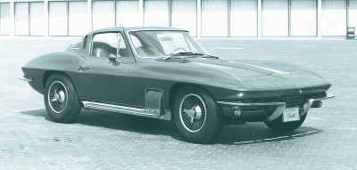 This 1964 Corvette Sting Ray
