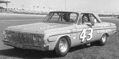 Richard Petty won the first of his seven NASCAR championships in the 1964 NASCAR Grand National tour.
