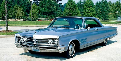 1966 Chrysler 300 hardtop coupe.