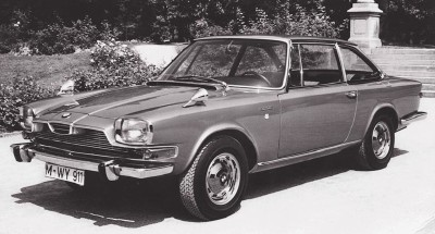 1967 Glas 3000GT coupe, a conservative but sporty semi-fastback