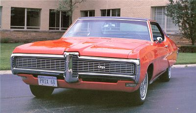1965-1968 Pontiac Grand Prix Specifications - 1965, 1966, 1967, 1968