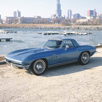 The 1965 Corvette added 200 pounds, but reduced 0-60 to well under six seconds.