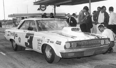 LeeRoy Yarbrough turned a lap of 181.818 mph at Daytona, establishing a new record for stock cars.