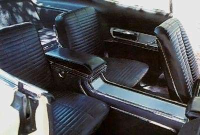 1966 Dodge Charger's interior console unit
