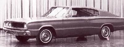 preliminary idea for the 1966 Dodge Charger