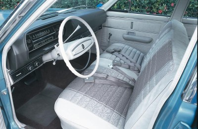 1968 Ford Falcon interior
