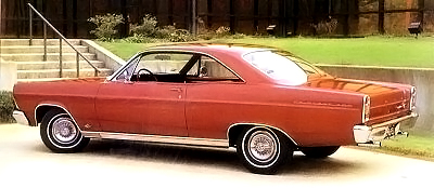 ford fairlane 500 red