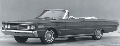 1966 Mercury S-55 convertible