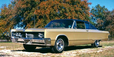1967 Chrysler 300 hardtop coupe.
