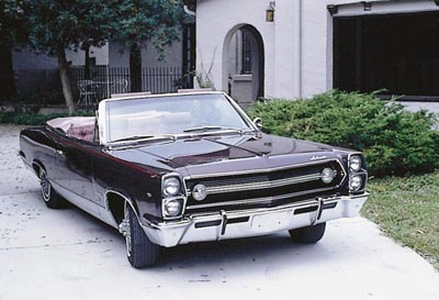 This 1967 AMC Ambassador DPL convertible was part of the 1967-69 AMC Ambassador DPL & SST 2-door line.