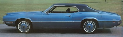 1971 Ford Thunderbird hardtop coupe