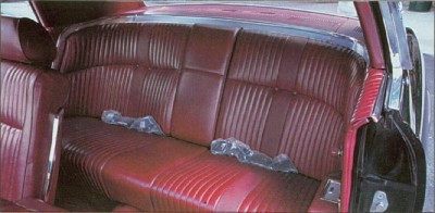 1969 Thunderbird interior