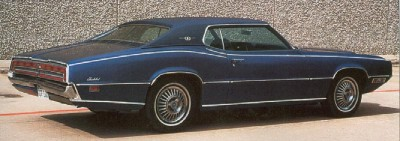 1970 Ford Thunderbird Landau coupe
