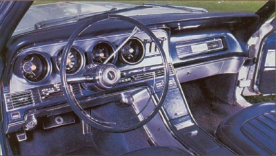 1967 Ford Thunderbird Landau interior