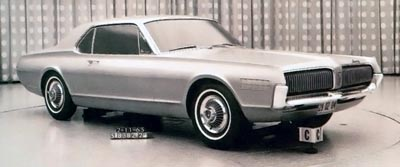 1967 mercury cougar model