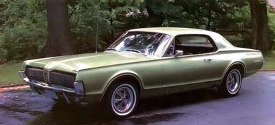 1967 mercurt cougar xr-7