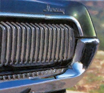 1968 mercury cougar headlamps