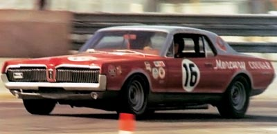 dan gurney racing a mercury cougar