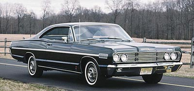 1967 Mercury S-55 hardtop coupe