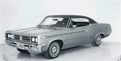 This 1970 AMC SST hardtop coupe was part of the 1968-1970 AMC Rebel SST line.