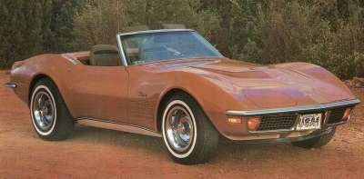 New for the 1972 Chevrolet Corvette was a standard anti-theft alarm system.
