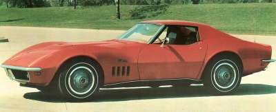 The 1969 Chevrolet Corvette featured modifications designed to correct problems noted in earlier models.