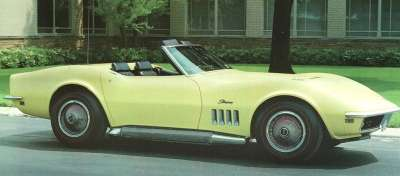 Despite mixed reviews, sports-car buyers snatched up the 1969 Chevrolet Corvette.